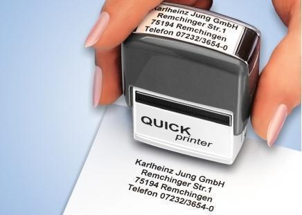 """Stempel-Automat """"Classic"""" max. 6 Zeilen a 30 Zeichen"""