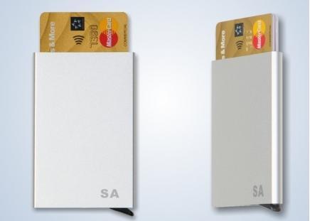 RFID Karten-Etui Aluminium