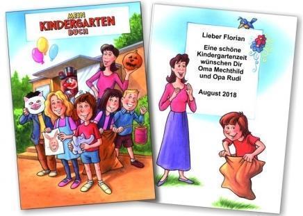Das persönliche Kindergarten Buch