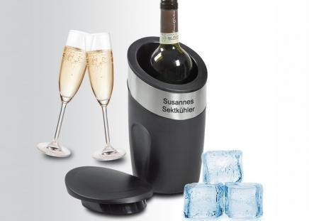 Flaschenkühler - Eiswürfelbehälter