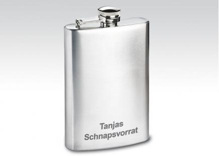 """Reiseflasche """"Flachmann"""""""