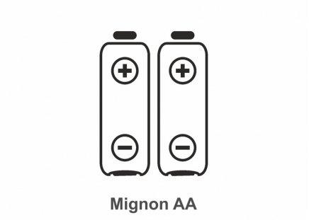 Batterie Typ Mignon AA, 2 Stück