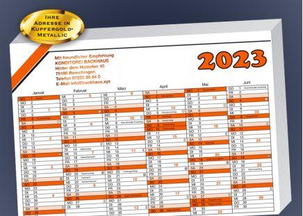Wandkalender 2020 100 Stück