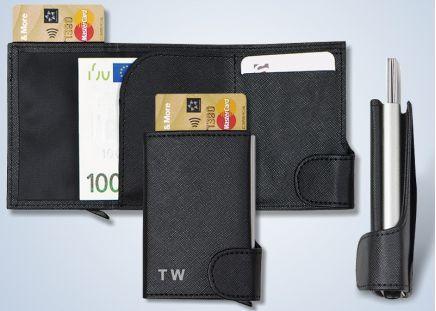 RFID-Geldbörse mit Karten-Etui
