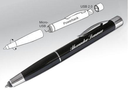 3 in1 Kugelschreiber Apple