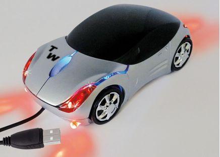 Computer-Maus Sportwagen