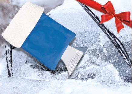 GRATIS-Zugabe: Eiskratzer-Handschuh