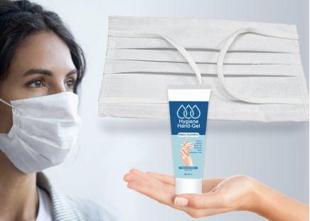 Spar-Set: Waschbare Maske + Handgel