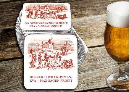 """Untersetzer """"Ritterfest"""""""