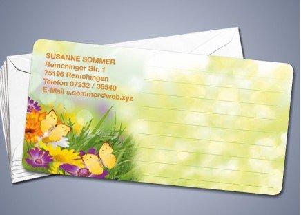 """50 Briefkarten """"Blumenwiese"""""""