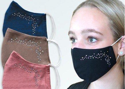 Gesichtsmaske Strass