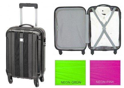 Handgepäck Trolley Neon-Pink