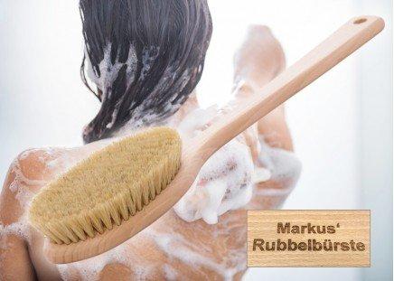 Bade- und Massagebürste