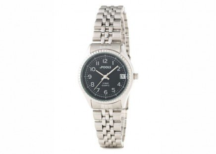 Damen-Armbanduhr Silber
