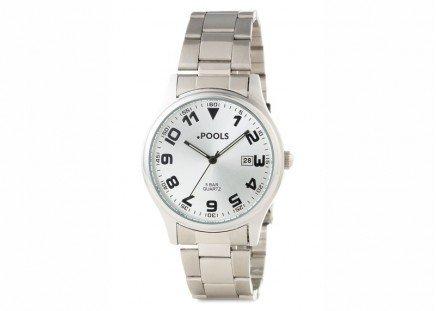 Herren-Armbanduhr Silber