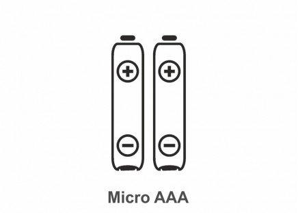 Batterie Typ Micro AAA, 2 Stück