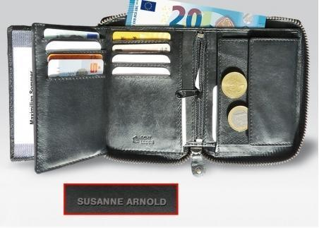 Geldbörse mit Reißverschluss