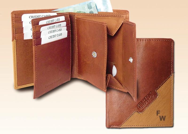 RFID Geldbörse braun