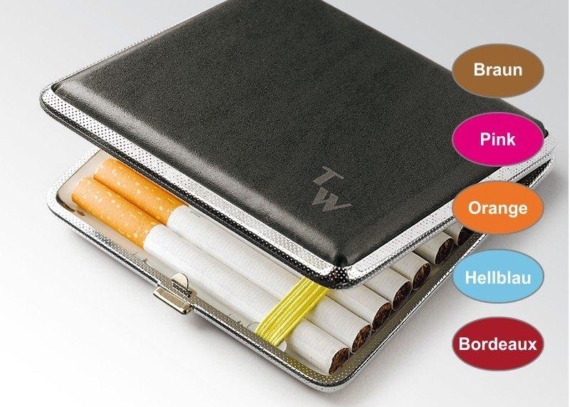 Zigaretten-Etui Kunstleder