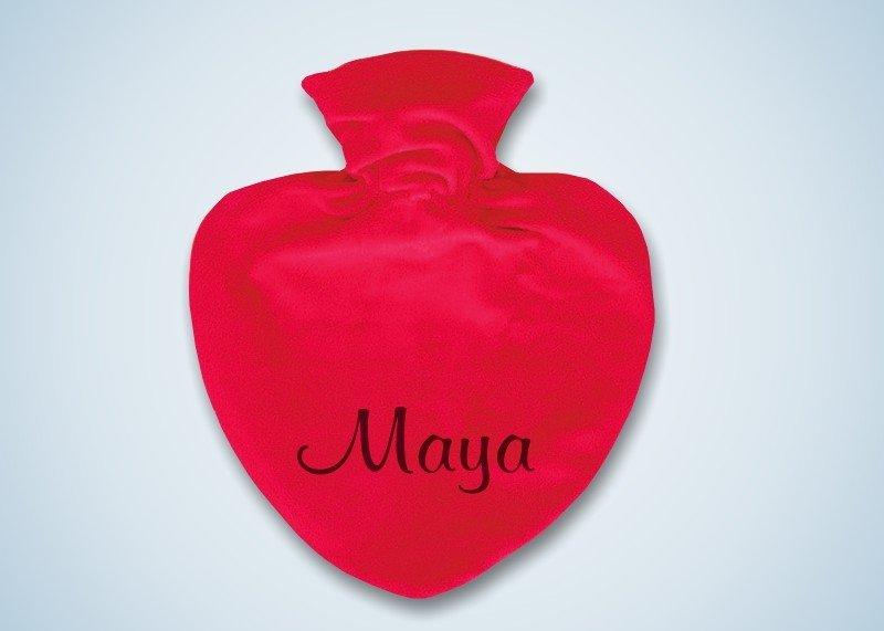 Herz-Wärmflasche