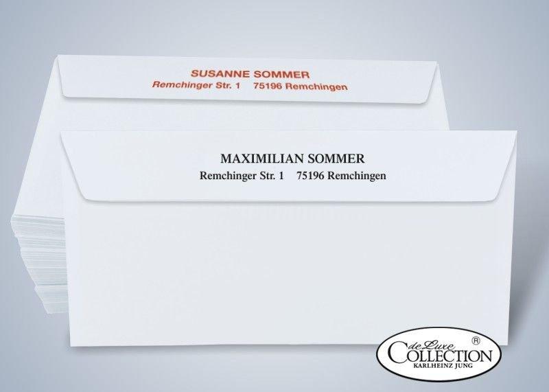 100 Briefumschläge Versandhaus Jung