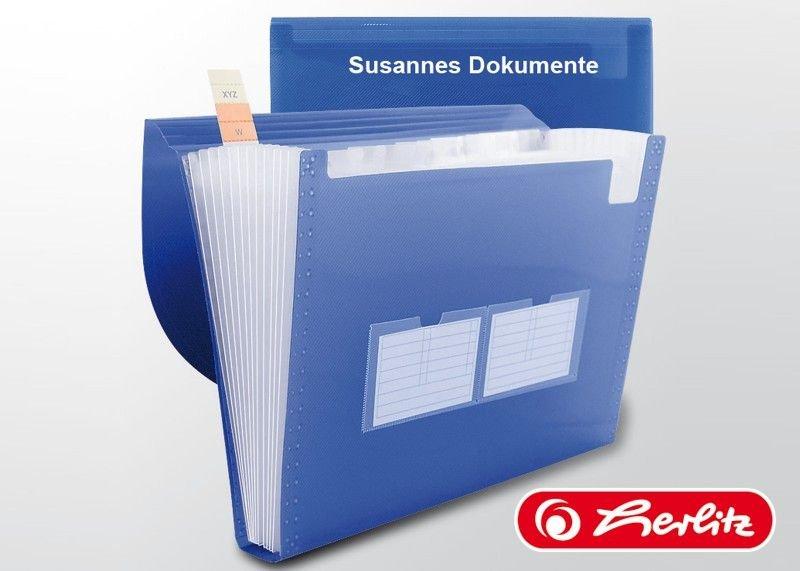 Fächermappe für Dokumente