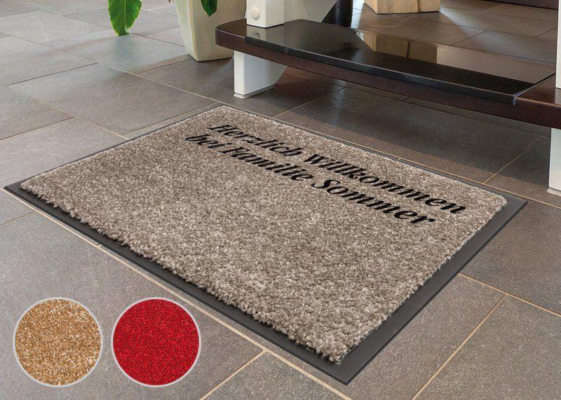Fußmatte mit Wunschtext