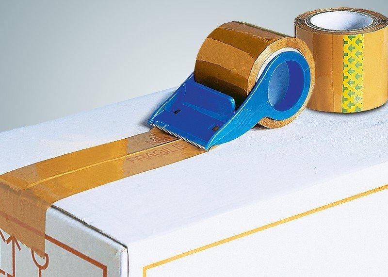 Packband-Abroller mit 2 Rollen