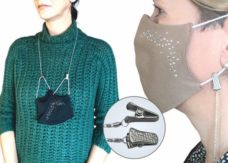 Clips-Halskette