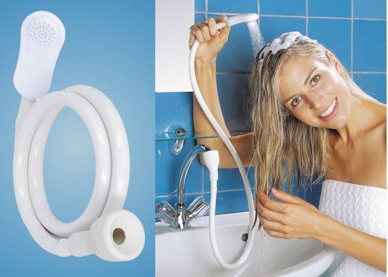 Waschbecken-Dusche