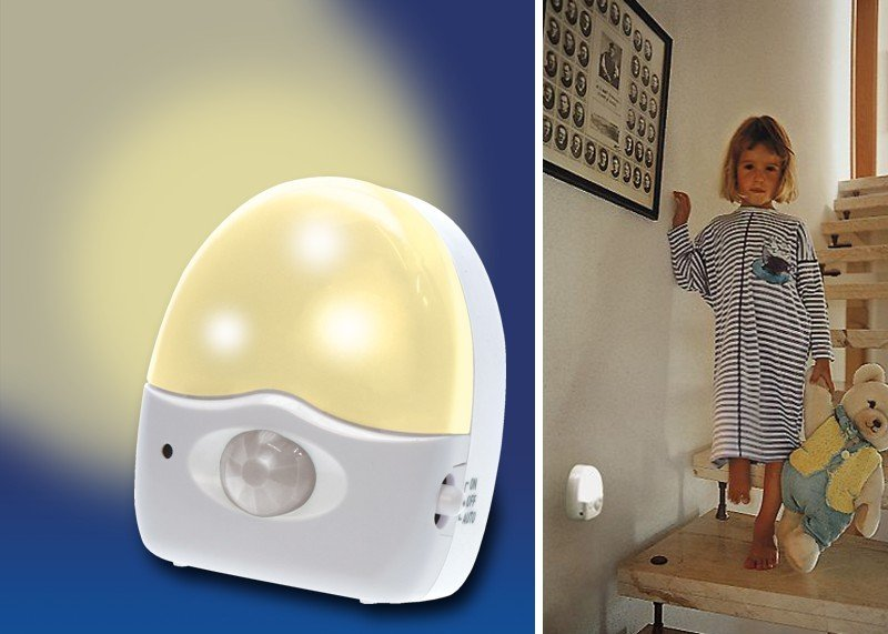 LED-Nachtlicht mit Bewegungssensor