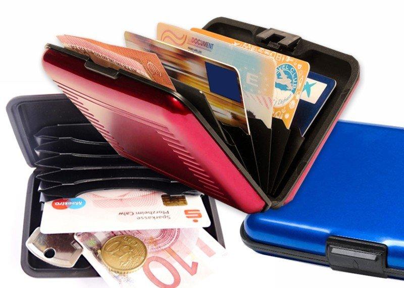 RFID-Aluminium-Karten-Etui