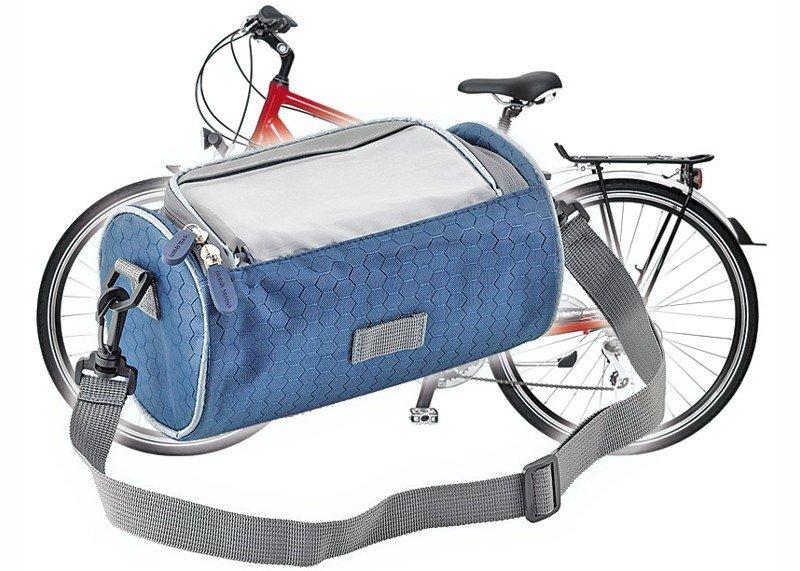 Fahrradlenker- und Schultertasche