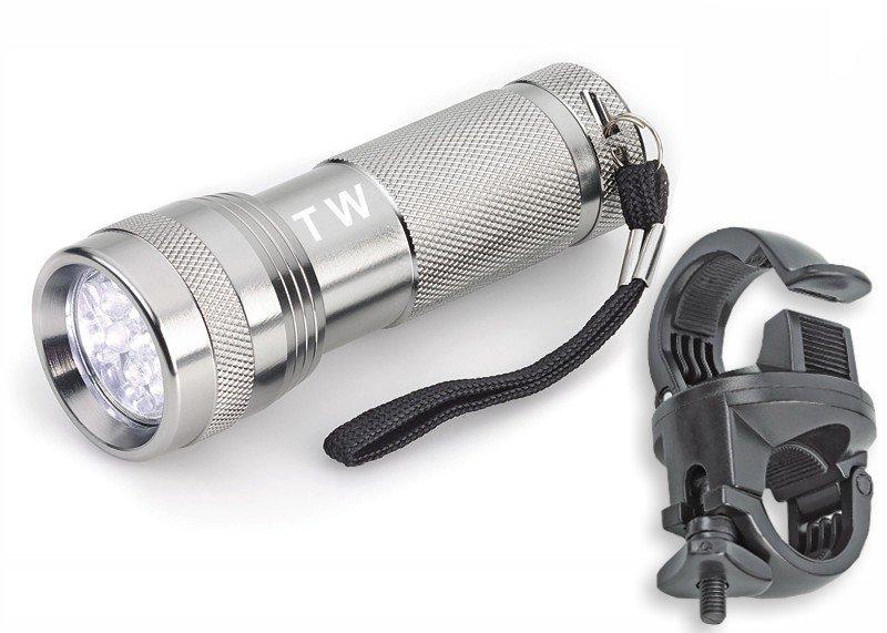 Taschenlampe mit Halterung