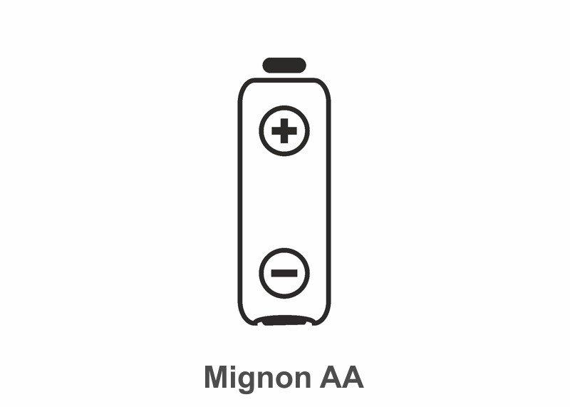 Batterie Typ Mignon AA, 1 Stück