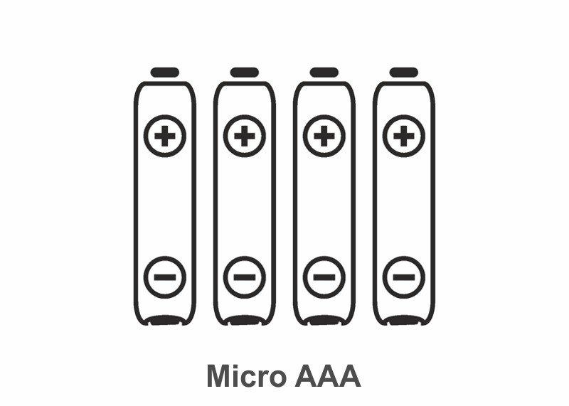Batterie Typ Micro AAA, 4 Stück