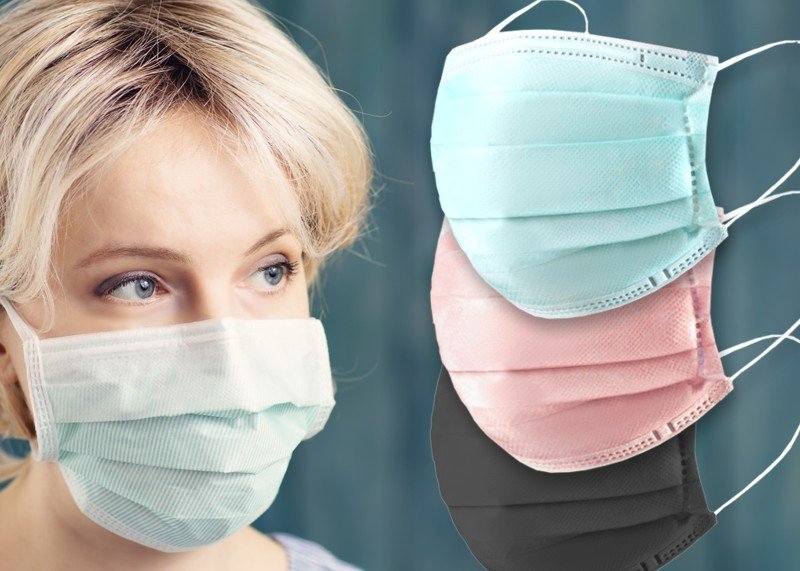 10 Einweg-Gesichtsmasken