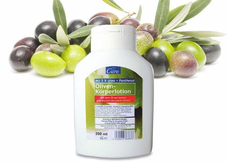 Körperlotion Olive