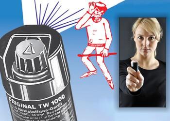 Tränengas-Spray TW1000