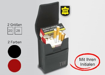 Zigaretten-Etui Leder
